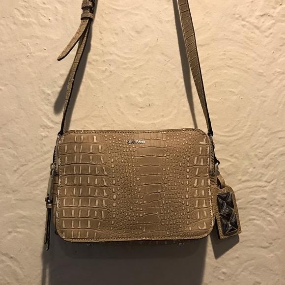 Calvin Klein Handbags - Calvin Klein Faux Leather Croco Bag